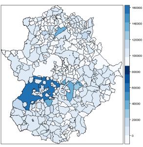 municipios extremadura R 1
